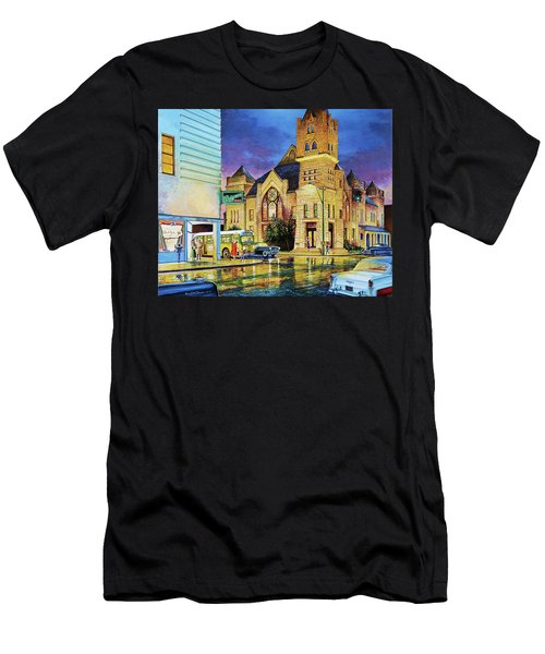 Castle Of Imagination Men's T-Shirt (Athletic Fit)