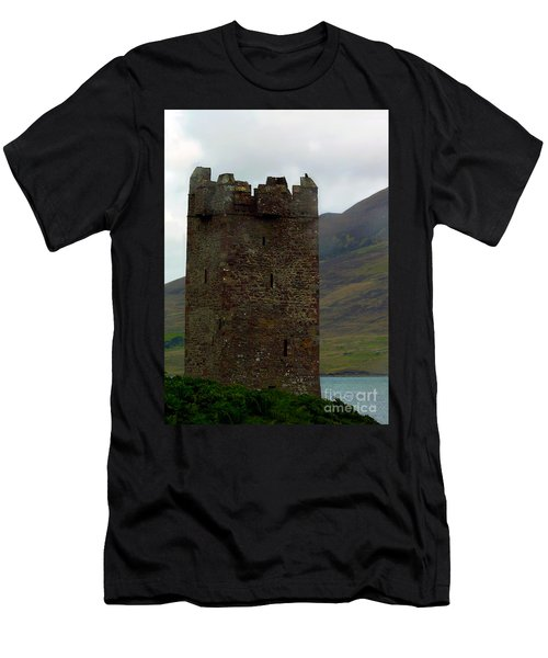 Castle Of The Pirate Queen Men's T-Shirt (Athletic Fit)