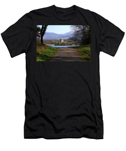 Castle On The Lakes Men's T-Shirt (Athletic Fit)