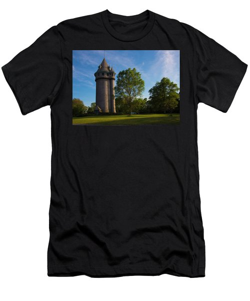 Castle Turret On The Green Men's T-Shirt (Athletic Fit)