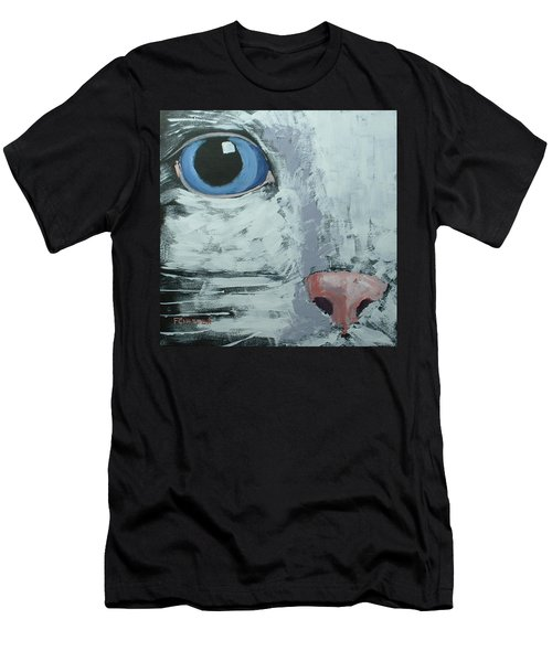 Cat Eye Men's T-Shirt (Athletic Fit)