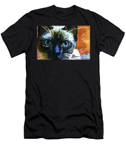 Cat Eyes 13 Shirt Men's T-Shirt (Athletic Fit)