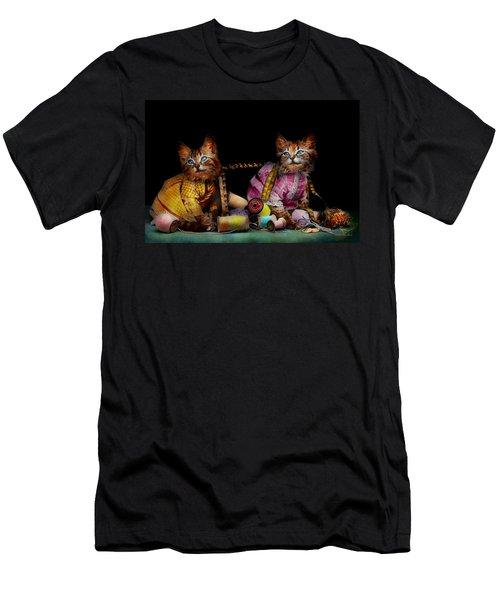 Cat - Mischief Makers 1915 Men's T-Shirt (Athletic Fit)