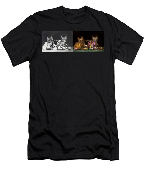 Cat - Mischief Makers 1915 - Side By Side Men's T-Shirt (Athletic Fit)