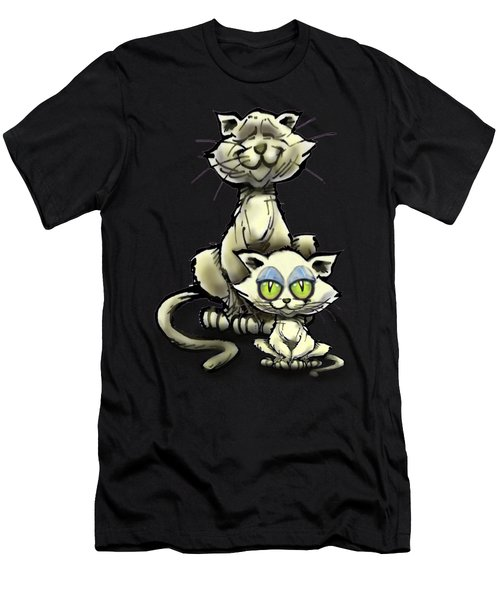 Cat N Kitten Men's T-Shirt (Athletic Fit)