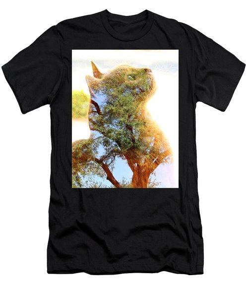 Cat Or Tree Men's T-Shirt (Athletic Fit)