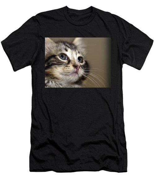 Cat T-shirt 2 Men's T-Shirt (Athletic Fit)
