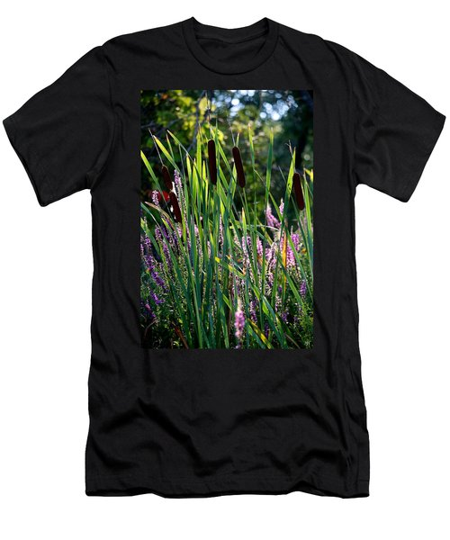 Cat Tails In The Morning Men's T-Shirt (Athletic Fit)