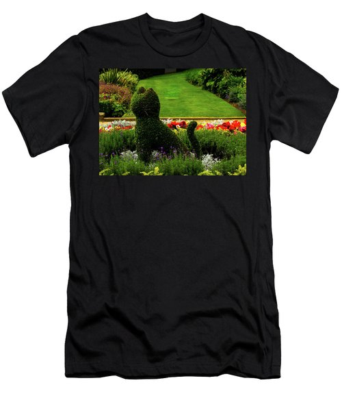 Cat Topiary Belfast Men's T-Shirt (Athletic Fit)