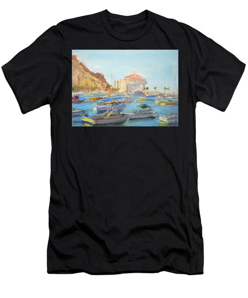 Catalina Casino In The Light Men's T-Shirt (Athletic Fit)