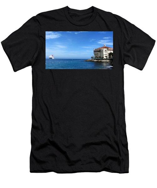 Catalina Island Casino Men's T-Shirt (Athletic Fit)