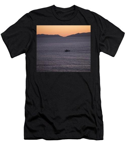 Catalina Orange Men's T-Shirt (Athletic Fit)