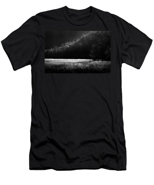 Cataloochee Morning Men's T-Shirt (Athletic Fit)