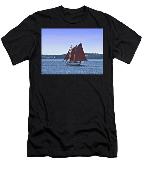 Catch The Breeze Men's T-Shirt (Athletic Fit)