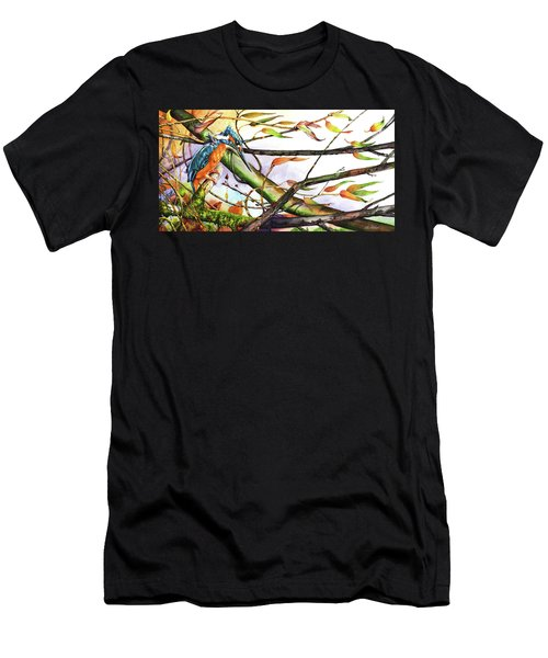 Catch The Wind Men's T-Shirt (Athletic Fit)