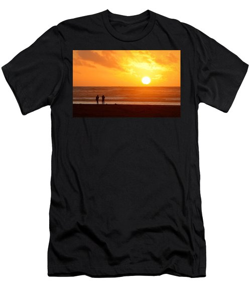 Catching A Setting Sun Men's T-Shirt (Athletic Fit)