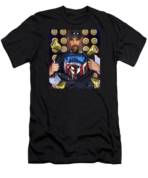 Catching Bullets They Think We Supermen Because Still We Rise Men's T-Shirt (Athletic Fit)