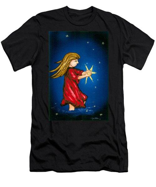 Catching Moonbeams Men's T-Shirt (Athletic Fit)