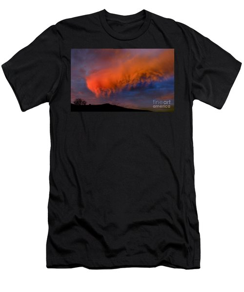 Caterpillar Cloud In The Sky Men's T-Shirt (Athletic Fit)