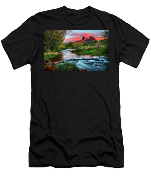 Cathedral At Sunset Men's T-Shirt (Athletic Fit)