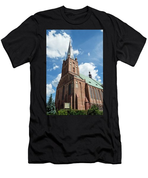 Cathedral Basilica Of St. James The Apostle, Szczecin A Men's T-Shirt (Athletic Fit)
