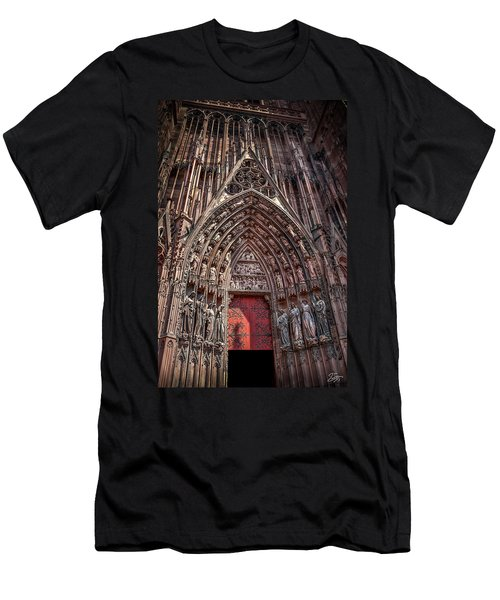 Cathedral Entance Men's T-Shirt (Athletic Fit)