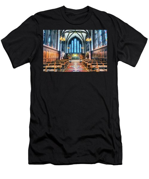 Cathedral Glow Men's T-Shirt (Athletic Fit)