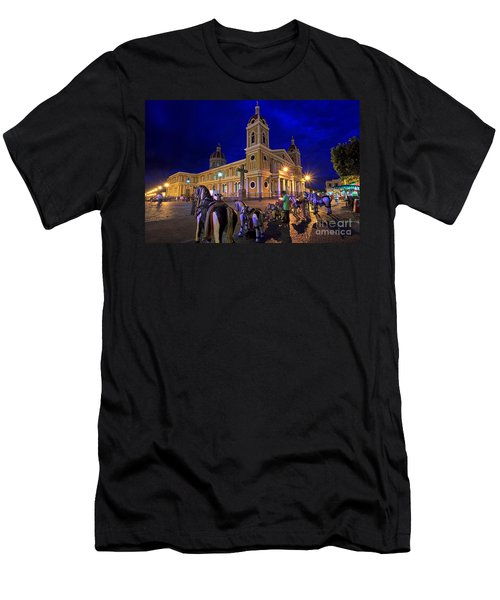 Cathedral Of Granada Shines Brightly Men's T-Shirt (Athletic Fit)