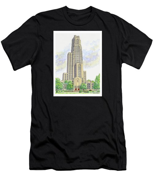 Cathedral Of Learning Men's T-Shirt (Athletic Fit)