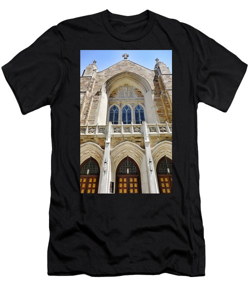 Cathedral Of St John Front Men's T-Shirt (Athletic Fit)