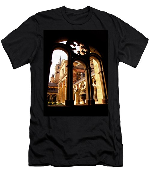Cathedral Of Trier Window Men's T-Shirt (Athletic Fit)