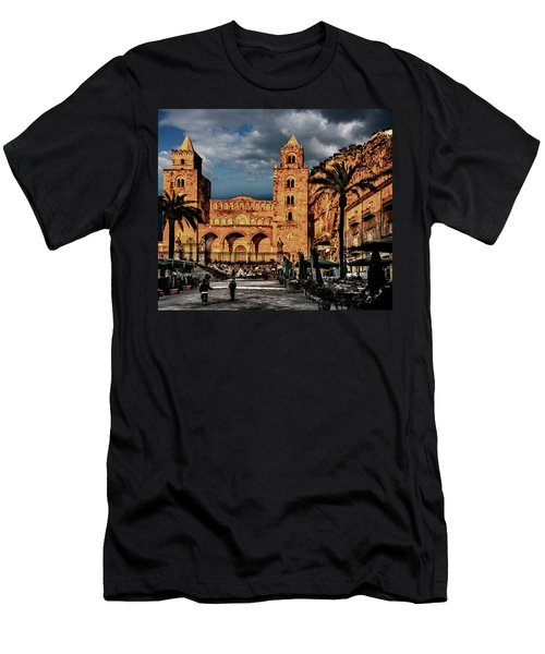 Cathedral  Men's T-Shirt (Slim Fit) by Patrick Boening