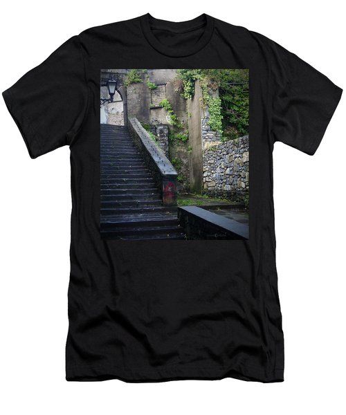 Cathedral Stairs Men's T-Shirt (Athletic Fit)