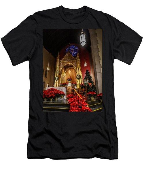 Catholic Christmas Men's T-Shirt (Athletic Fit)