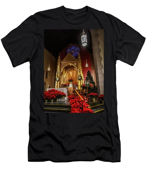 Catholic Christmas Men's T-Shirt (Athletic Fit)