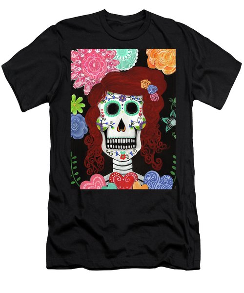 Catrina's Garden Men's T-Shirt (Athletic Fit)