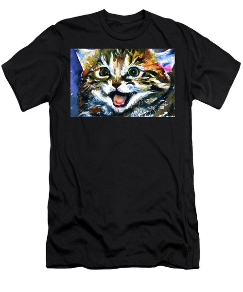 Cats Eyes 15 Men's T-Shirt (Athletic Fit)