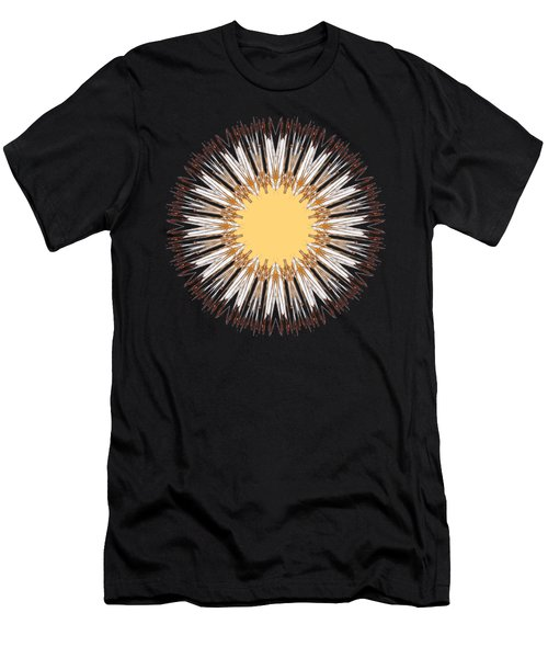 Cattail Mandala - Men's T-Shirt (Athletic Fit)