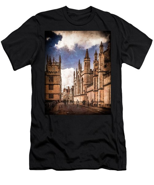 Oxford, England - Catte Street Men's T-Shirt (Athletic Fit)
