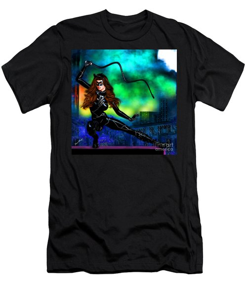Catwoman Men's T-Shirt (Athletic Fit)