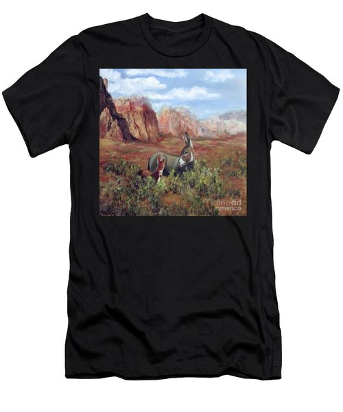 Caught In The Brush Men's T-Shirt (Athletic Fit)
