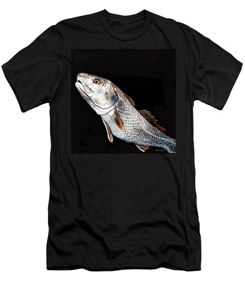 Caught In The Surf Redfish Men's T-Shirt (Athletic Fit)