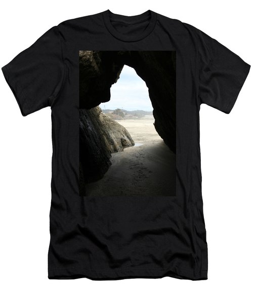 Men's T-Shirt (Slim Fit) featuring the photograph Cave Dweller by Holly Ethan