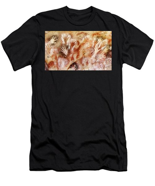 Cave Of The Hands - Cueva De Las Manos Men's T-Shirt (Athletic Fit)