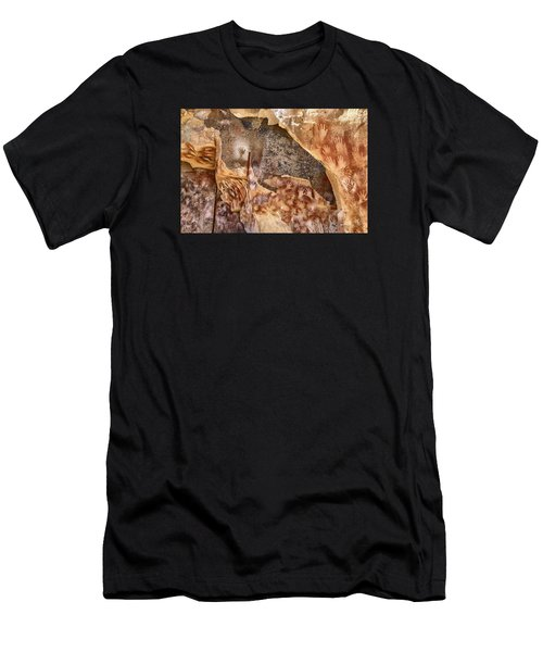 Cave Of The Hands Patagonia Argentina Men's T-Shirt (Athletic Fit)