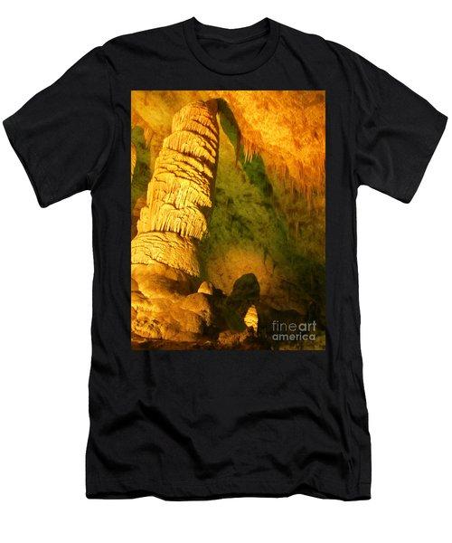 Cave Photography Men's T-Shirt (Athletic Fit)