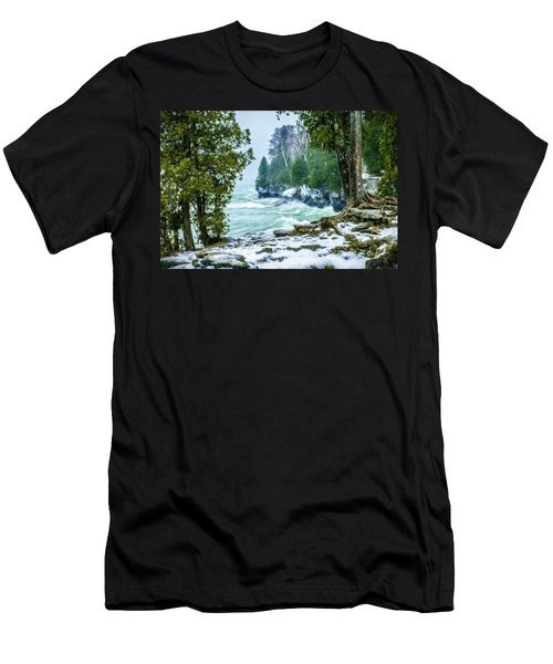 Cave Point #5 Men's T-Shirt (Athletic Fit)