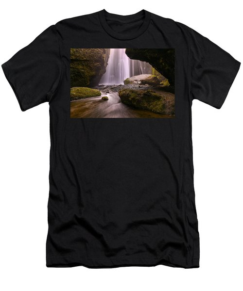 Men's T-Shirt (Athletic Fit) featuring the photograph Cavern Of Dreams by Dustin  LeFevre