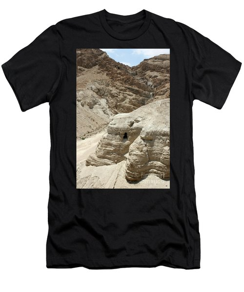 Caves Of The Dead Sea Scrolls Men's T-Shirt (Athletic Fit)