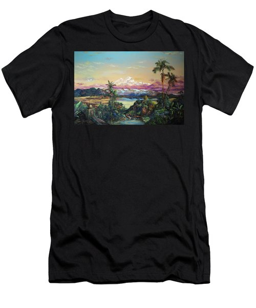 Cayambe-ish Men's T-Shirt (Athletic Fit)